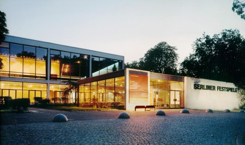 Haus der Berliner Festspiele Berlijn Duitsland